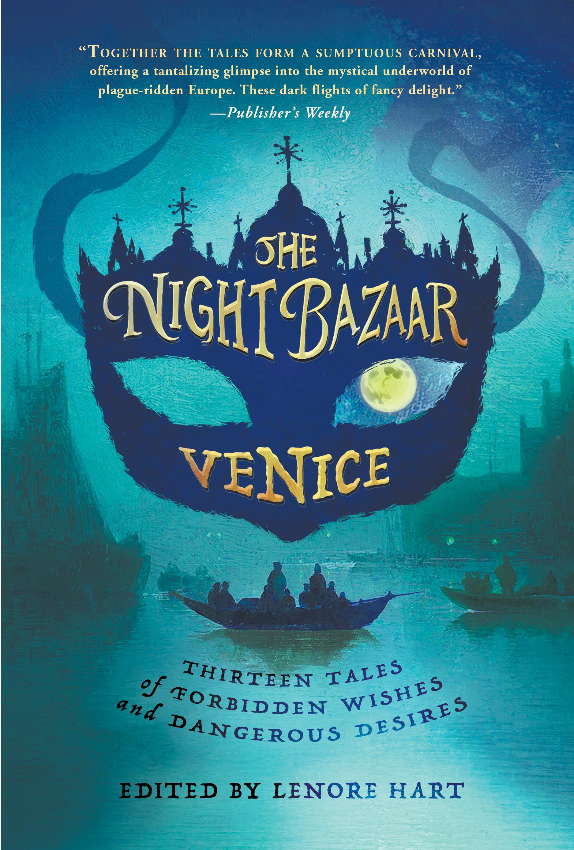 Night Bazaar Venice front print cover 5-25-20